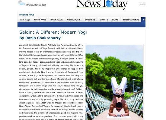 Saldin: A Diffirent Modern Yogi